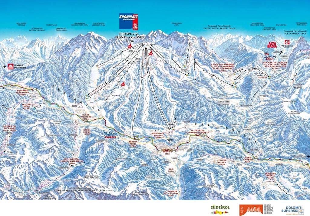 Ski resort Bruneck/Reischach