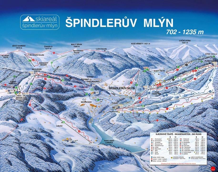Skimap Spindleruv Mlyn