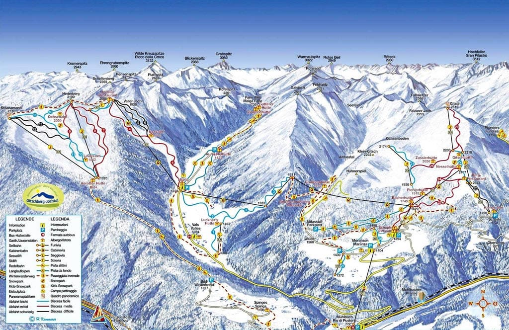 Ski resort Vals-Mühlbach