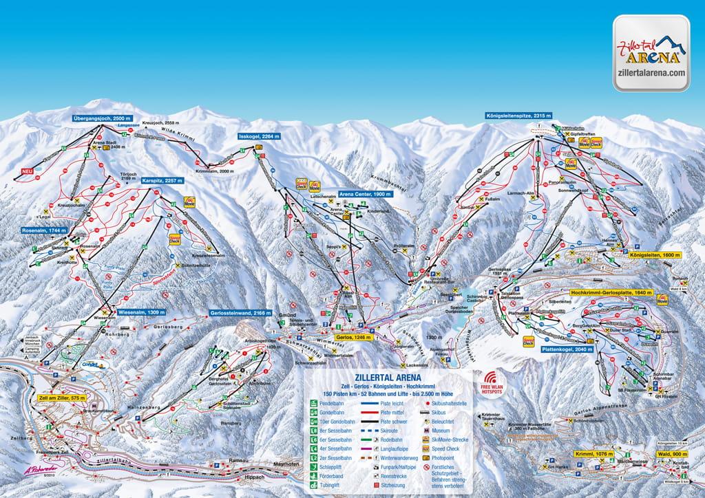 Ski resort Zell am Ziller