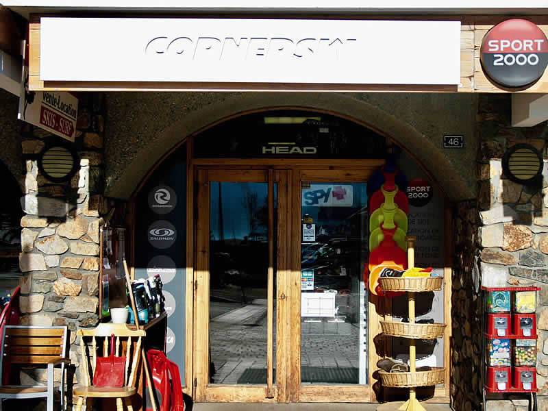 Ski hire shop CORNERSKI, Place du Cognet - Immeuble le Karen in Alpe d'Huez
