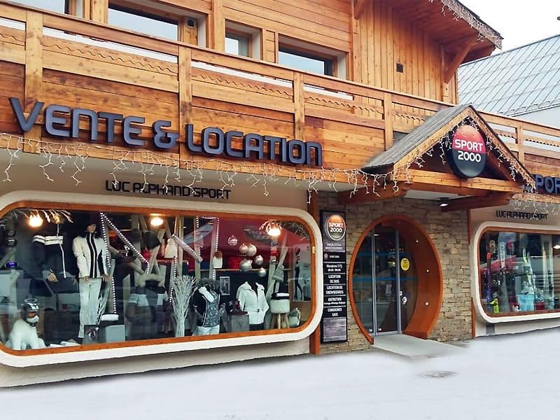 Ski hire shop SPORT 2000 ALTITUDE, Place du Téléphérique-CHANTEMERLE in Serre Chevalier Chantemerle