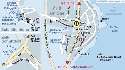 Resort Map Zell am See