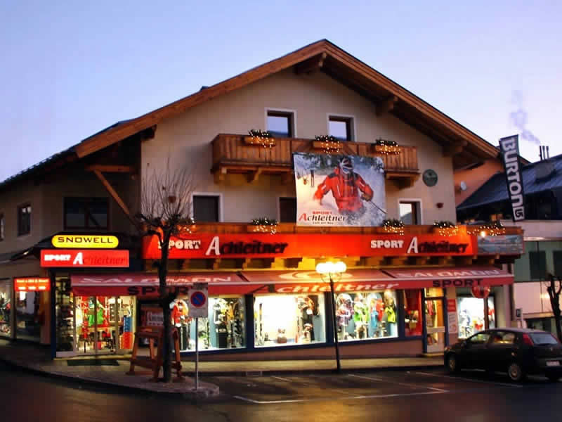 Ski hire shop Achleitner Sport, Postplatz 2 in Zell am See