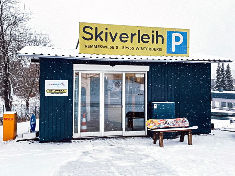 Ski hire shop Liftstation Skiverleih, Remmeswiese 5 in Winterberg