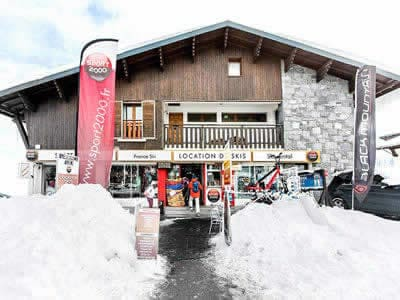 Ski hire shop France SKI, Saint Lary in Résidence Auria - Quartier du Pla d'Adet