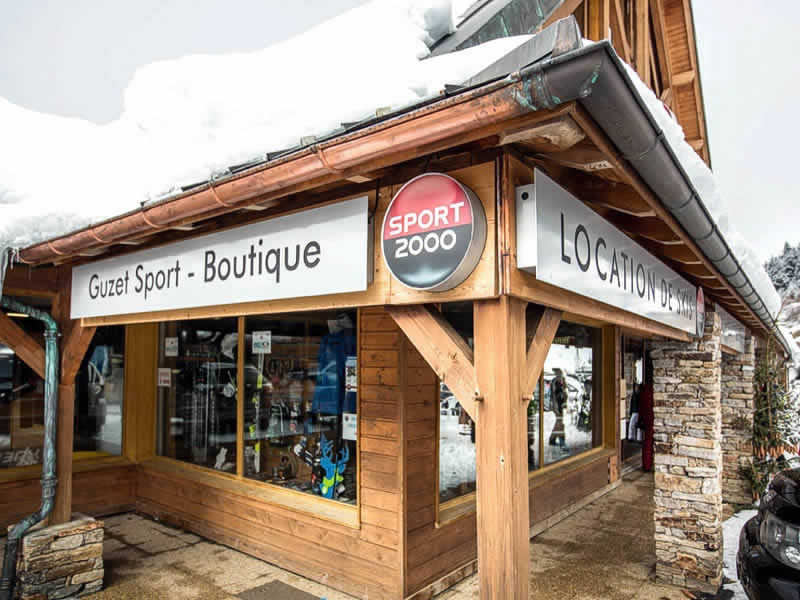 Ski hire shop GUZET SPORT, Guzet Neige in Résidence du Vallier - USTOU