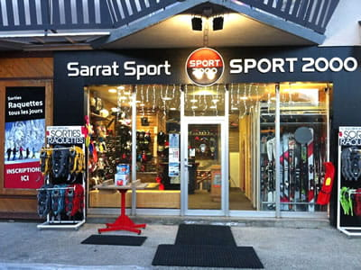 Ski hire shop SARRAT SPORT BALESTAS, Peyragudes in Résidence le Louron - Quartier Balestas