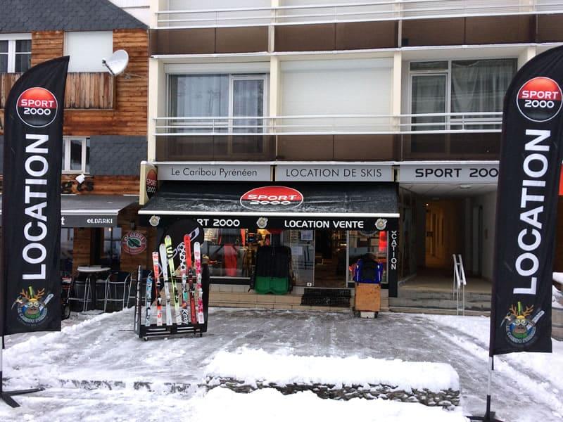 Ski hire shop LE CARIBOU PYRENEEN, Gourette in Résidence Les Arcizettes