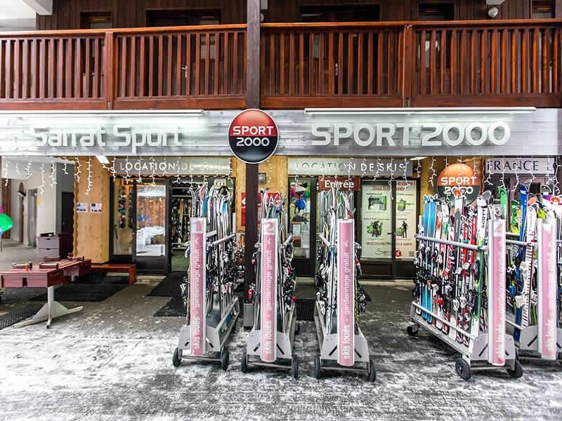 Ski hire shop SARRAT SPORT PRIVILEGE, Résidence privilège - Quartier Lalonquere in Peyragudes