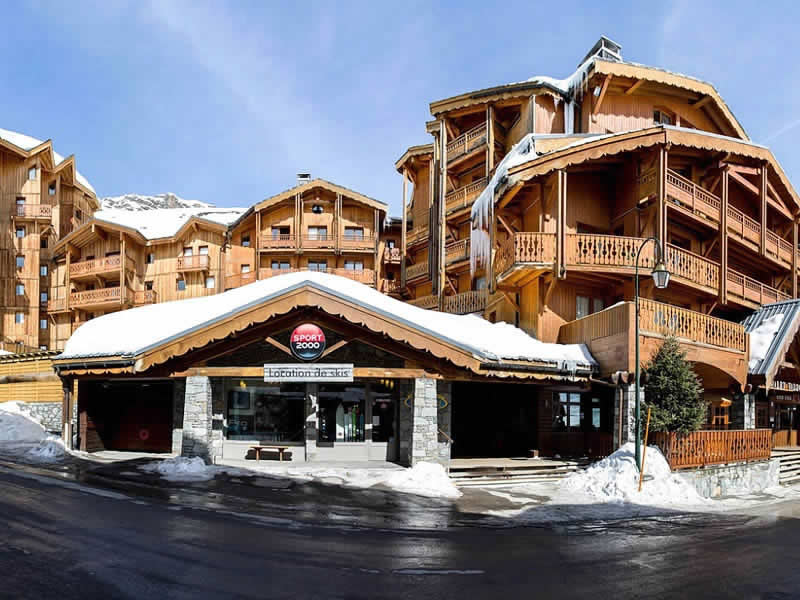 Ski hire shop VAL LOC 2400, Val Thorens in Résidence Val 2400 - Les Balcons