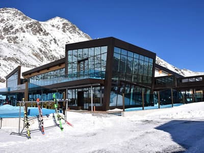 Ski hire shop Sport-Shop, Sölden in Rettenbach Gletscher [Direkt beim Restaurant]