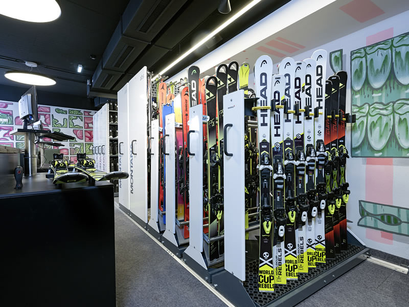 Ski hire shop Sport-Shop, Rettenbach Gletscher [Direkt beim Restaurant] in Sölden