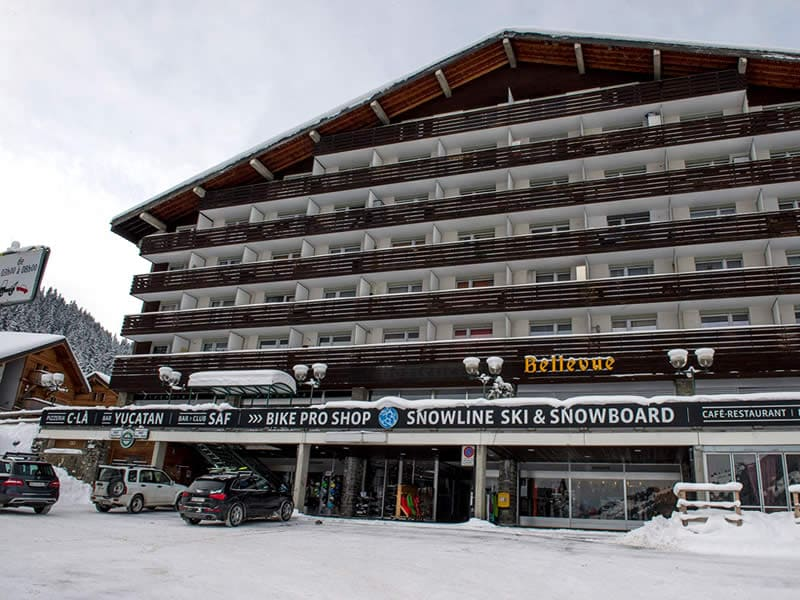 Ski hire shop Snowline, Route de France 22 in Morgins