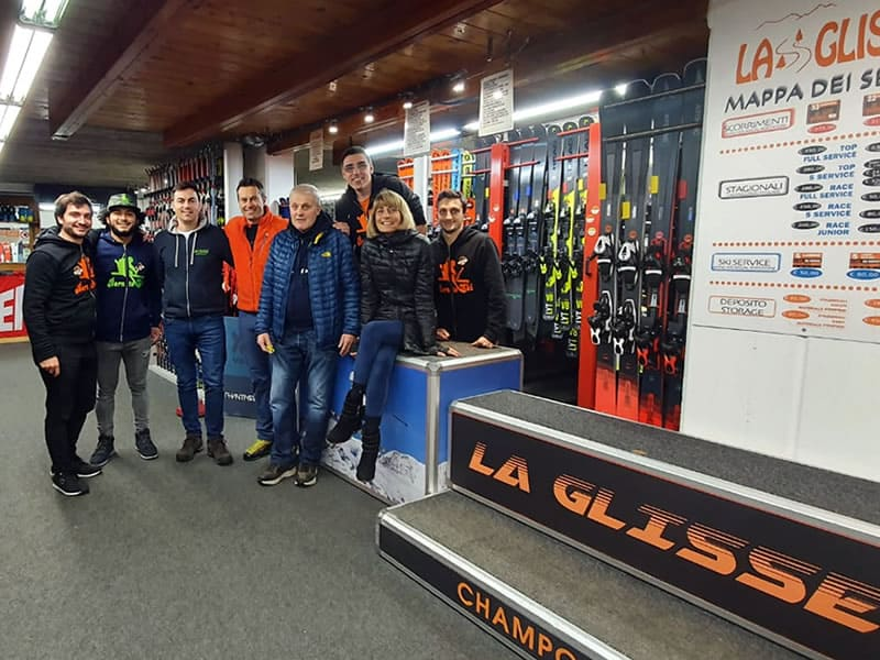 Ski hire shop Ski rent La Glisse, Route Ramey 65 - Ayas in Champoluc