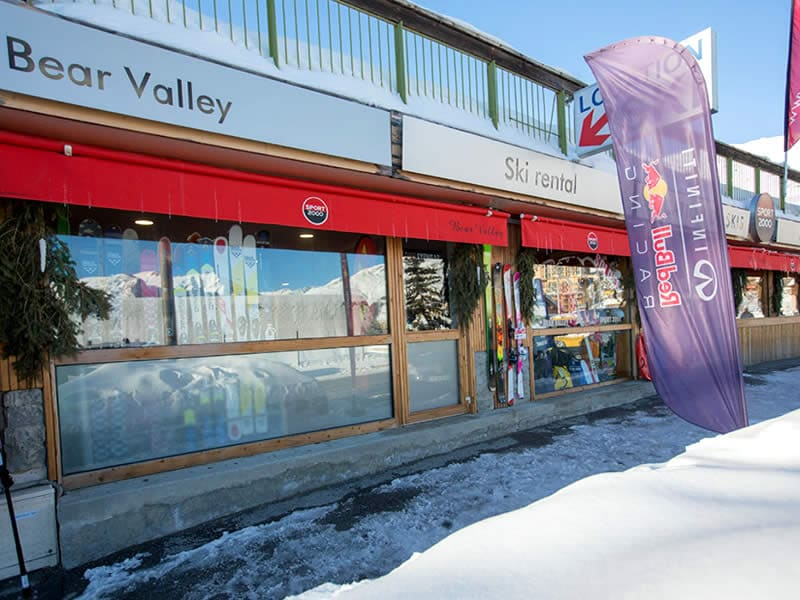 Ski hire shop BEAR VALLEY, Rue des Ecrins - Centre Station in Orcieres Merlettes