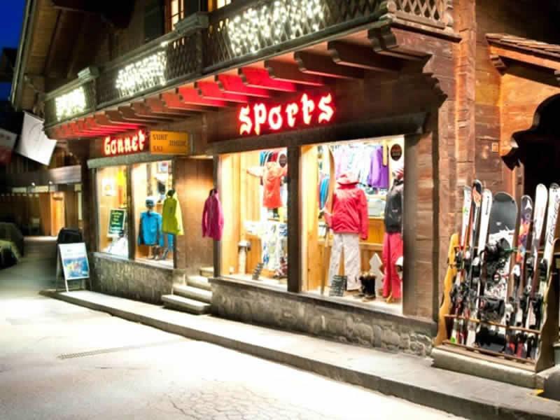 Ski hire shop Gonnet Sports, Rue du Village 65 in Champéry