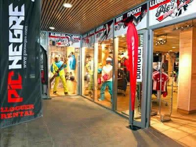 Ski hire shop Pic Negre IX, Canillo in Salida Telecabina Canillo