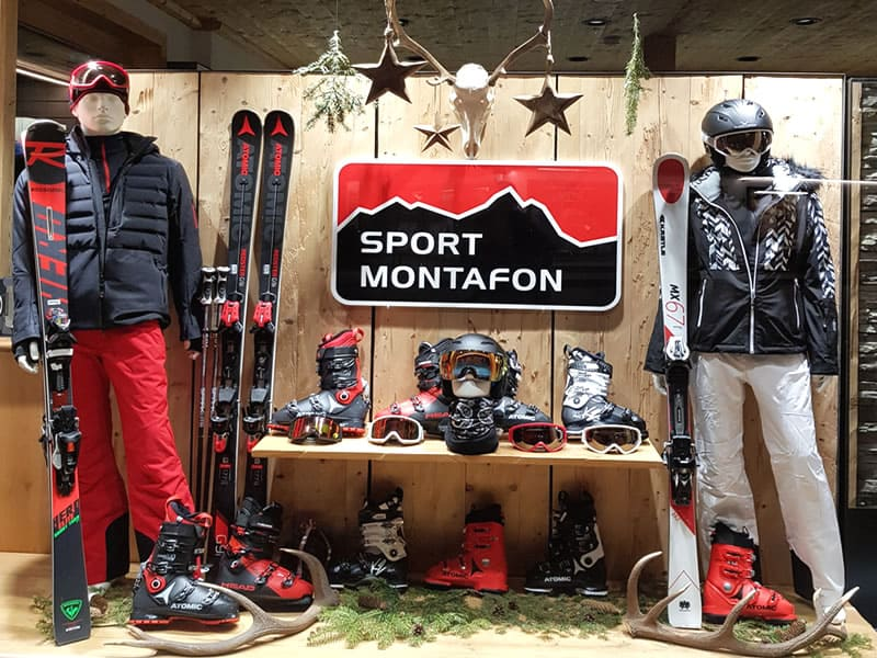 Ski hire shop Sport Montafon Schulstrasse in Schulstrasse 6b [50m zur Talstation Versettla], Gaschurn