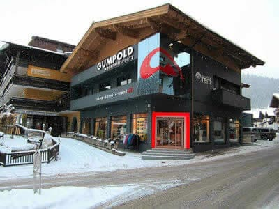Ski hire shop Gumpold Mountain Sports, Hinterglemm in Schwarzacherweg 200