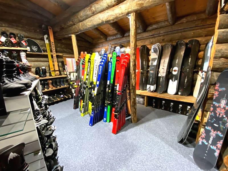 Ski hire shop Bananas by Gisler Sport in Seeblickstrasse 6, Arosa