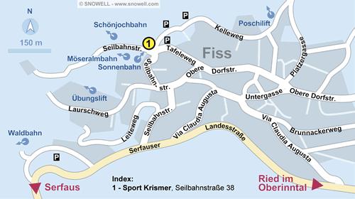 Resort Map Fiss