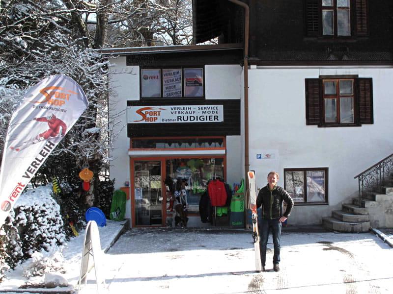 Ski hire shop Sportshop Rudigier, Silvrettastrasse 5 in Schruns