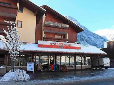 Ski hire shop Sport Harry's, St. Gallenkirch in Silvrettastrasse 7