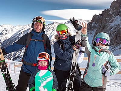 Family holiday Morzine Portes du Soleil