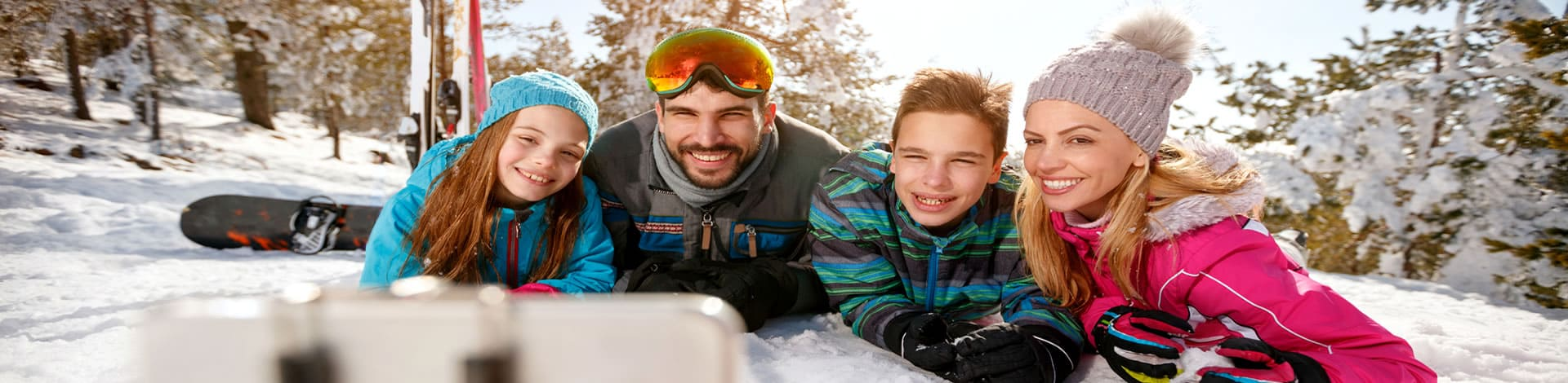 Packing list for ski holidays with children
