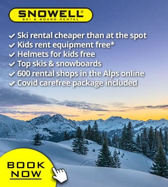 Now: Free cancellation and rebooking ❄️👍🏻❄️ for all bookings for winter 2021/2022 ❄️👍🏻❄️ ski rental online with SNOWELL
