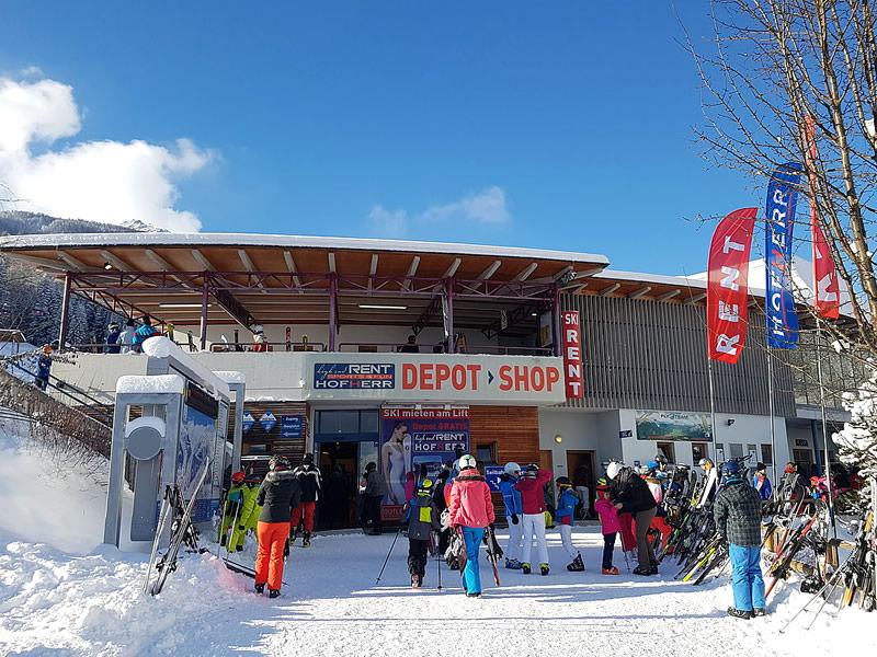 Ski hire shop Hofherr Sport, Talstation Grubigsteinbahn - Juch 3 in Lermoos