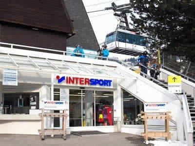Ski hire shop INTERSPORT - Silvretta Montafon, Schruns in Talstation Hochjochbahn