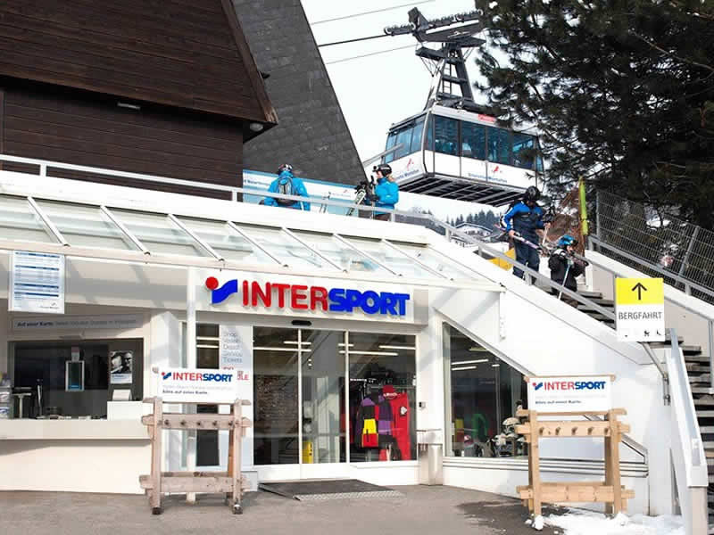 Ski hire shop INTERSPORT - Silvretta Montafon, Talstation Hochjochbahn in Schruns