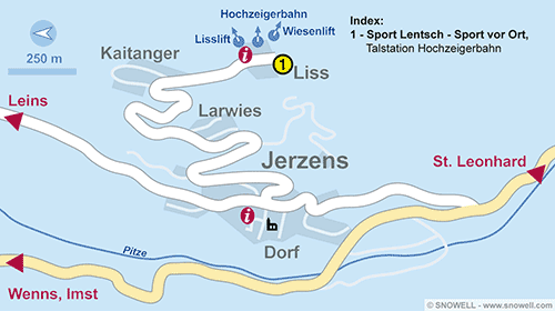 Resort Map Jerzens