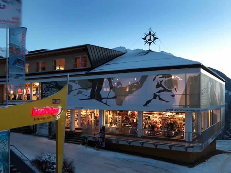 Ski hire shop Sport Lentsch - Sport vor Ort, Jerzens in Talstation Hochzeigerbahn