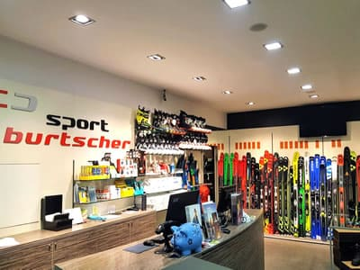 Ski hire shop SPORT 2000 Burtscher, Ried im Oberinntal in Talstation Ried-Fendels