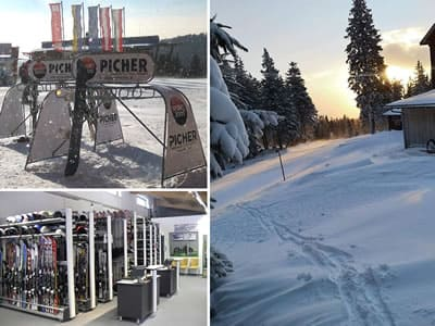 Ski hire shop SPORT 2000 Picher, Aspangberg - St. Peter in Talstation Sessellift