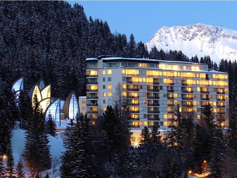 Ski hire shop Gisler Sport, Tschuggen Grand Hotel in Arosa