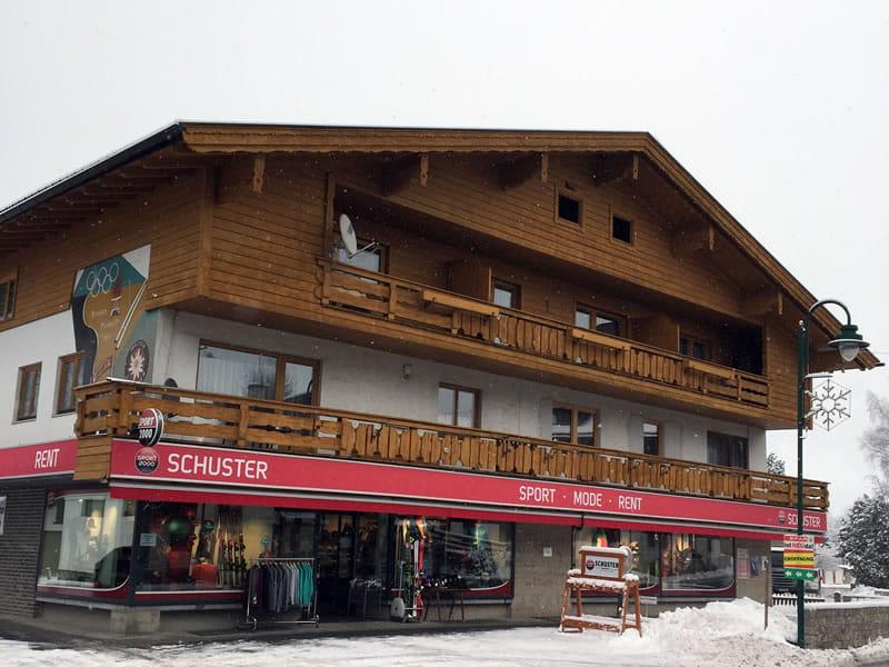 Ski hire shop SPORT 2000 Schuster, Unterdorf 2 in Lermoos