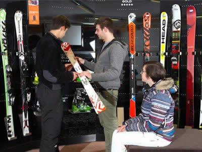Ski hire shop Celsino Sport, Bormio in Via Battaglion Morbegno 1