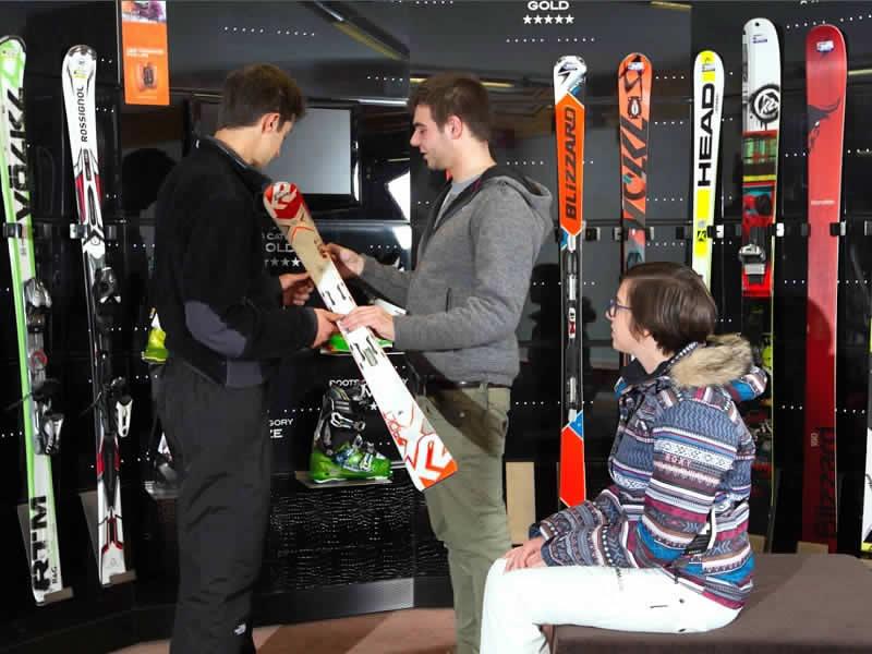 Ski hire shop Celsino Sport, Via Battaglion Morbegno 1 in Bormio