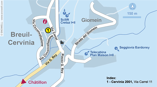 Resort Map Breuil Cervinia