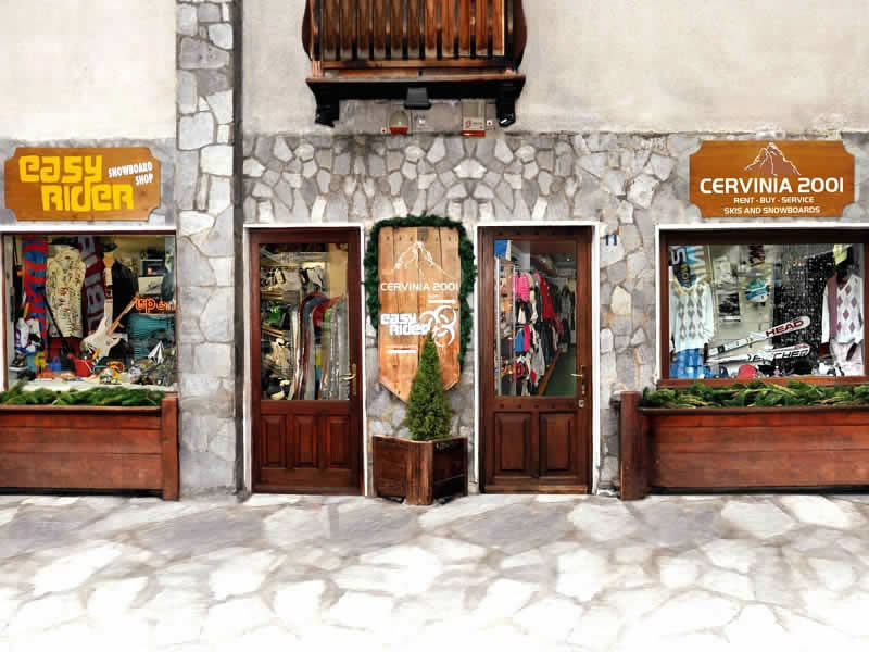 Ski hire shop Cervinia 2001, Via Carrel, 11 in Breuil Cervinia