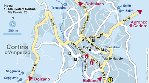 Buy one-bedroom apartment in Cortina dAmpetstso sea