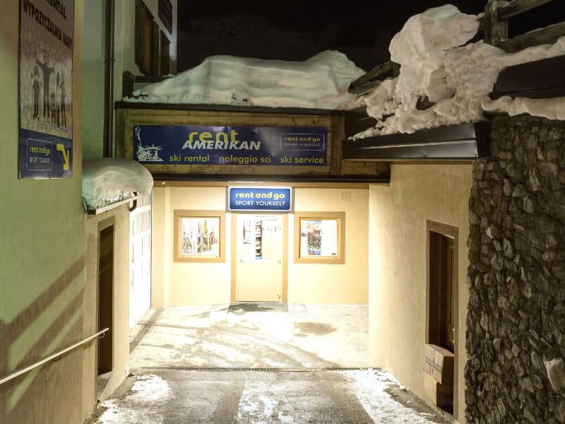 Ski hire shop Rent and Go Amerikan, Via Florin, 74 in Livigno