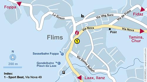 Resort Map Flims