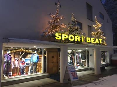 Ski hire shop Sport Beat, Flims in Via Nova 49