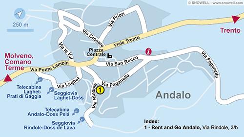 Resort Map Andalo
