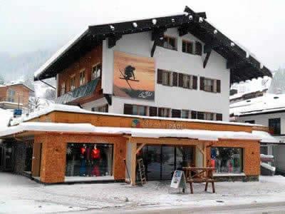 Ski hire shop Sport Pauli, Kleinwalsertal - Hirschegg in Walserstrasse 270
